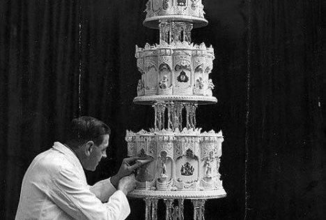 queen elizabeth ii wedding cake 1947 wedding cake for elizabeth ii the san francisco 18935