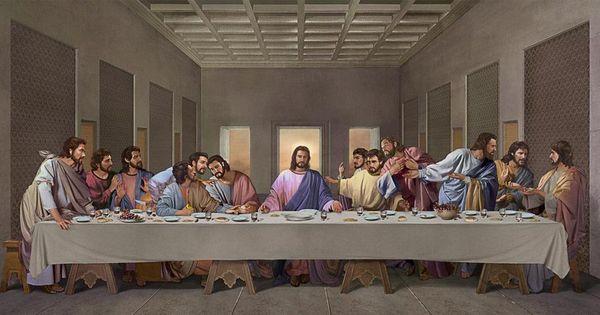 Suaratuhan Berkat Belaskasihan Yesus Tuhan Santa Ceia Quadro