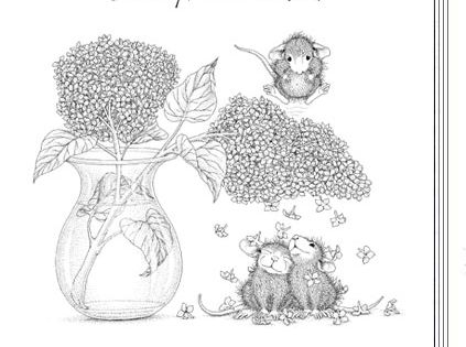 House Mouse Designs 174 A House Mouse 174 Coloring Book Volume