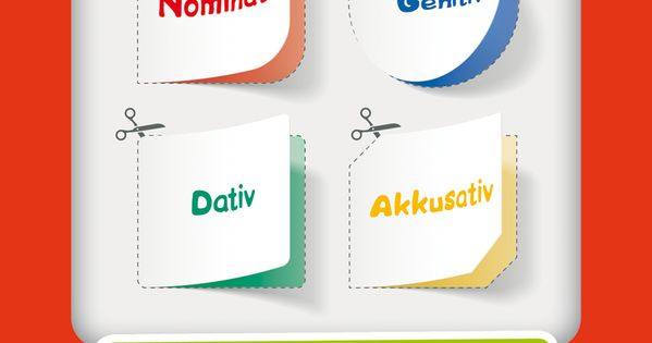 Die vier f lle nominativ genitiv dativ akkusativ ben for Genitiv dativ akkusativ nominativ
