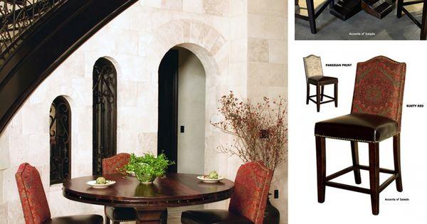 Pub Gathering Tables at Accents of Salado | Tuscan Decor Dining Room | Pinterest | Hacienda ...