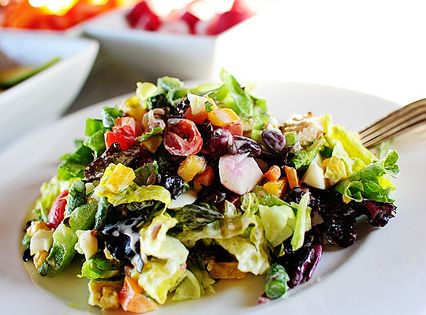New York Style Chopped Salad | Recipe | New york style ...