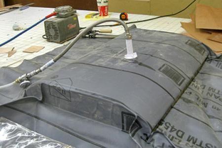 Shop Made Vacuum Press Bag Diy Vacuum Bags Woodworking Plan Vacuums