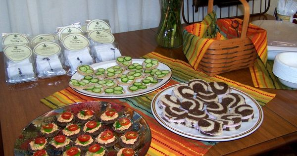 Fall Finger Foods For A Bridal Shower