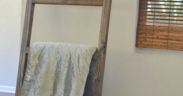 Diy Blanket Ladder Pottery Barn Knock Off Discover