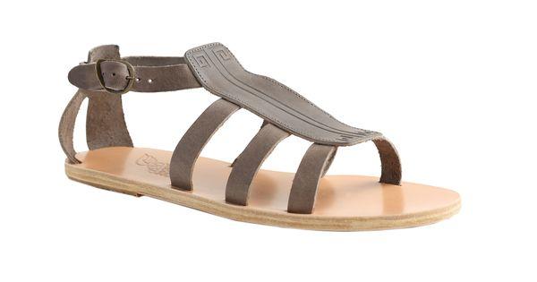 Ancient Greek Sandals Men S Dark Brown Pliombo Dionysos Leather Sandals Store