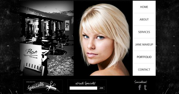 Hair salon websites - Google Search | Hair Salon | Pinterest ...