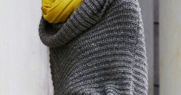 great color combination for fall - gray & mustard yellow