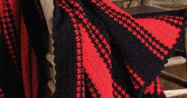 Lumberjack Throw free crochet pattern | Crochet Afghans ...