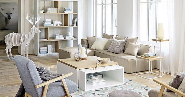 meubles d co d int rieur contemporain maisons du monde d co salon pinterest. Black Bedroom Furniture Sets. Home Design Ideas