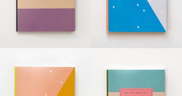 color combos - LIKE - colorful notebooks