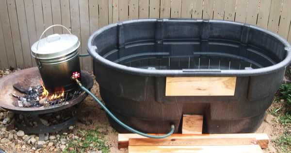 Off Grid Hot Tub Diy Outdoor Shower Pinterest Hot