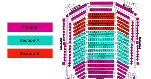 Broward Center For The Performing Arts Seating Chart Seating Charts Chart Theater Seating
