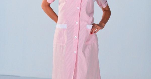 blouse de travail femme de m nage rose blouse femme de chambre et soubrette maid uniform. Black Bedroom Furniture Sets. Home Design Ideas