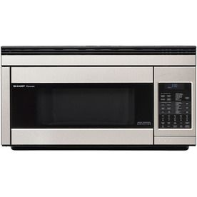 Sharp 1 1 Cu Ft Over The Range Convection Microwave With Sensor