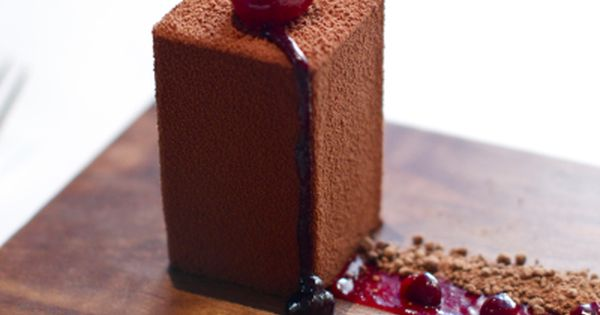 black forest petit gateau..
