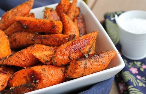 Roasted carrots, Carrots and Roasted sweet potatoes on Pinterest
