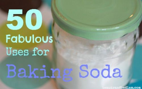 With over 50 uses for Baking Soda, this multipurpose miracle cleaner does