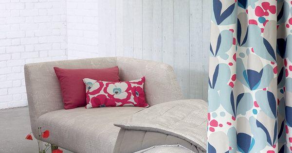 rideau alva quince villa nova marie claire maison rideaux et voilages pinterest villas. Black Bedroom Furniture Sets. Home Design Ideas