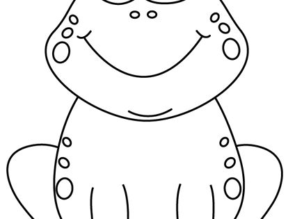Black frog art - photo#30