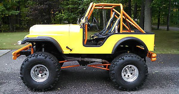 1959 Willys Jeep With Cj5 Fiberglass Tub Lifted Toyota Axles Lockers Willys Jeep Jeep Willys