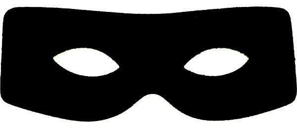 Burglar Mask Clipart