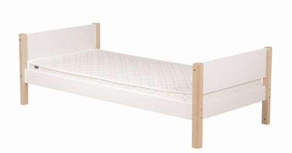 Flexa Flexa White Single Bed Frame With Pull Out Bed Frame Wayfair Uk With Images Childrens Beds Bed Single Bed