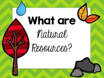 Free Natural Resources Powerpoint Natural Resources Lesson Science Resources Natural Resources Activities
