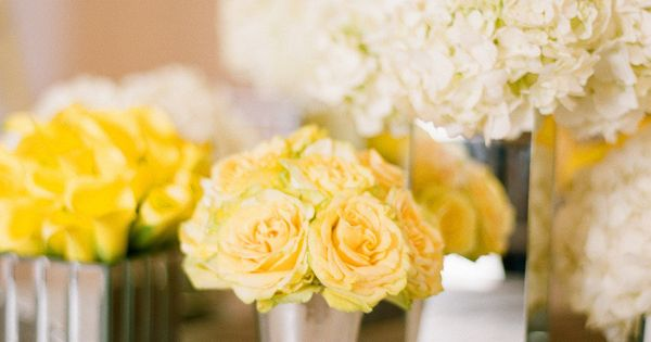 FLORAL ARRANGEMENTS: calla lily, centerpieces, dutch hydrangea