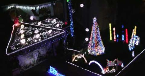 Our 65 000 Led Christmas Lights Dance To Mariah Carey All I Want For Christmas Is You Christmas Lights Christmas Light Show Mariah Carey Christmas