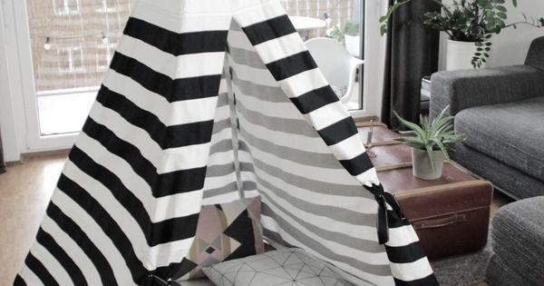 diy tipi anleitung zum selber n hen auf dem blog diy selber. Black Bedroom Furniture Sets. Home Design Ideas