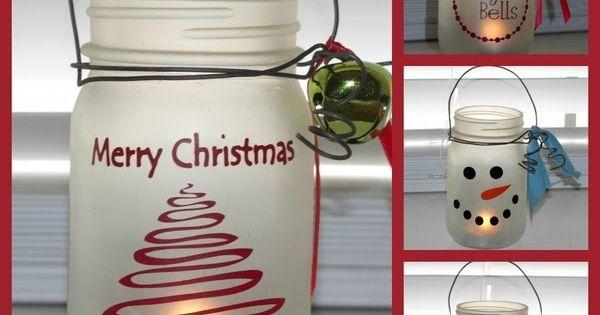 Mason Jar Craft--LOVE!!! I want to do this