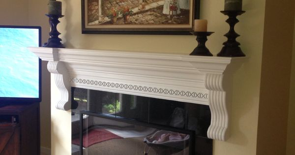 Diy Kid Proofing Fireplace Screen Cover Using Inexpensive Poster Frame From Target Mounted With
