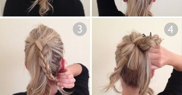 Not your Average Bun!! bun hair howto