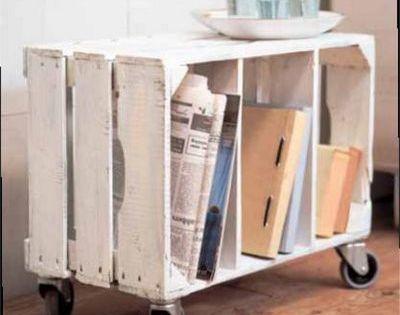 rollcontainer aus holzkiste diy holz verarbeiten pinterest holzkisten kisten und tische. Black Bedroom Furniture Sets. Home Design Ideas