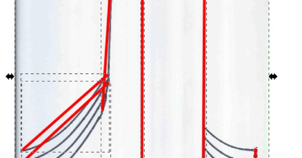 Drawing Lines With Inkscape : Drawing lines and curves in inkscape patternmaking tech