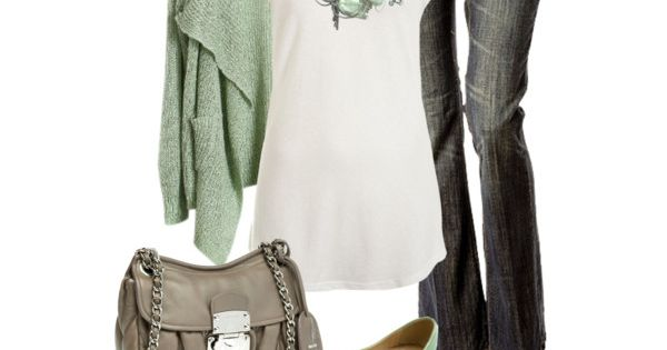 Daily Fashion Outfits 2012 | Sea Foam | Fashionista Trends