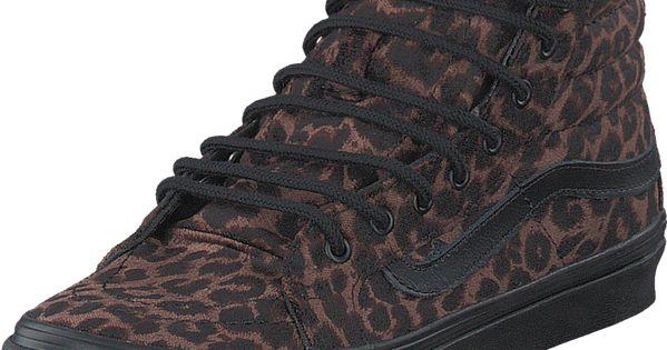 Vans U Sk8 Hi Slim Suede Leopard Schuhe Kaufen Online Schuhe Kaufen Schwarze Schuhe Hohe Sneaker