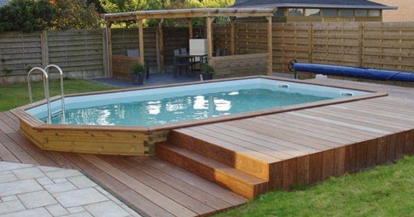 Le piscine hors sol en bois 50 mod les for Piscine hors sol 9 15 x4 60