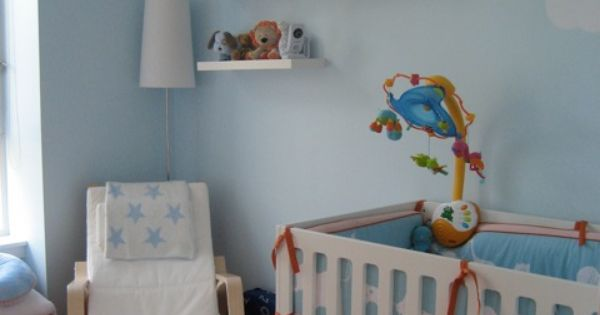 Painted Robin Babies Room