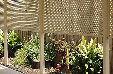 ideas using lattice fence with lattice better homes