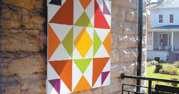 Barn Quilts Le Roy s ?Quilt? Project Celebrates History ... barn quilt ideas Pinterest ...