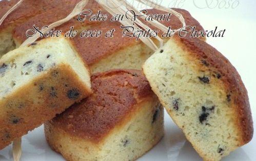 Cake De Sophie Coco Pepite De Chocolat
