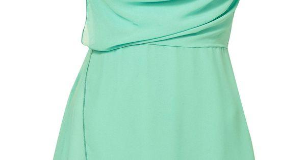 Mint dress **Cowl Neck Wrap Dress by Wal G Price: £33.00 Colour: