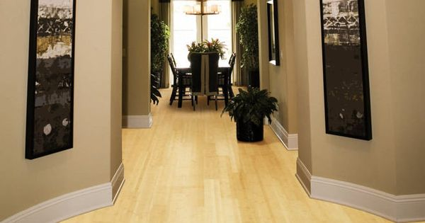 Bamboo solid hardwood floor horinzontal laminated natural for Light solid wood flooring