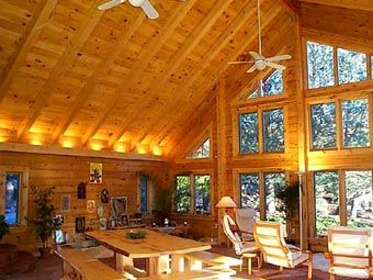 How To Insulate Cathedral Ceilings Properly Cathedral Ceiling Vaulted Ceiling Lighting Ceiling Lights Living Room