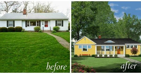 Cookie Cutter Ranch 5 Curb Appeal Before And Afters That