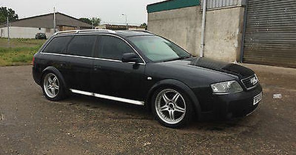 Ebay 2003 Audi A6 Allroad 2 5 Tdi Quattro Auto Black Spares Or Repair Carparts Carrepair Audi Salvage Cars Audi A6