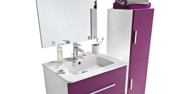 Caisson Plan Miroir Volga 60 Cm Castorama Meuble Sous Vasque Meuble Salle De Bain Idee Salle De Bain