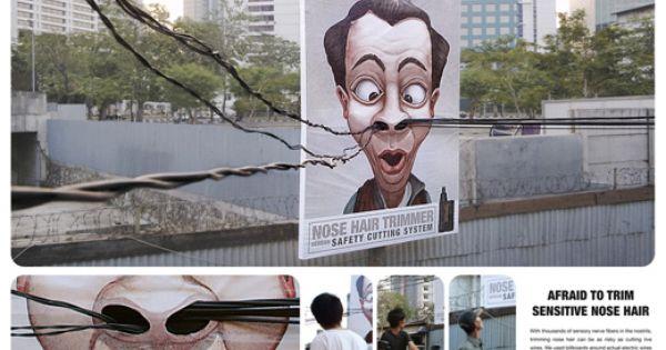 Ambientmedia Marketing Btl Advertising Hair Advertising Guerilla Marketing Street Marketing